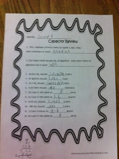 Common Core 5.MD.5.1 Freebie