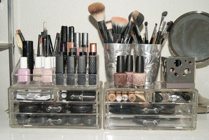 beauty+storage   Fashion Beauty Glamour: My Makeup storage