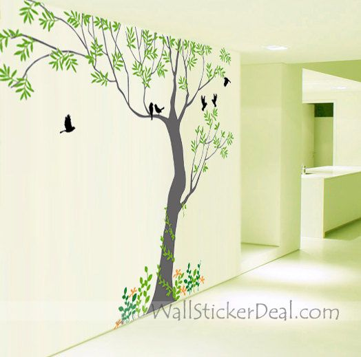 Huge Tree Wall Sticker