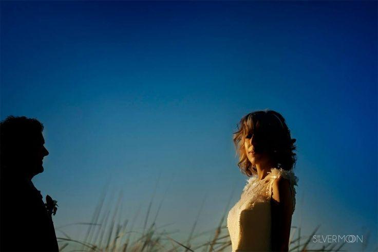 La novia, siempre radiante! © SILVER MOON FOTOGRAFÍA