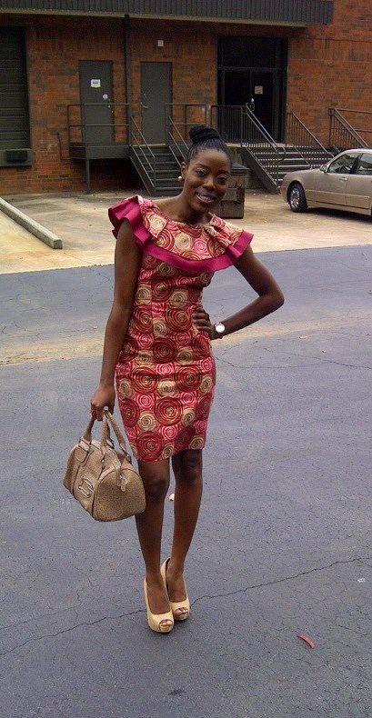 Nice. #Africanfashion #AfricanWeddings #Africanprints #Ethnicprints #Africanwomen #africanTradition #AfricanArt #AfricanStyle #AfricanBeads #Gele #Kente #Ankara #Nigerianfashion #Ghanaianfashion #Kenyanfashion #Burundifashion #senegalesefashion #Swahilifashion DK