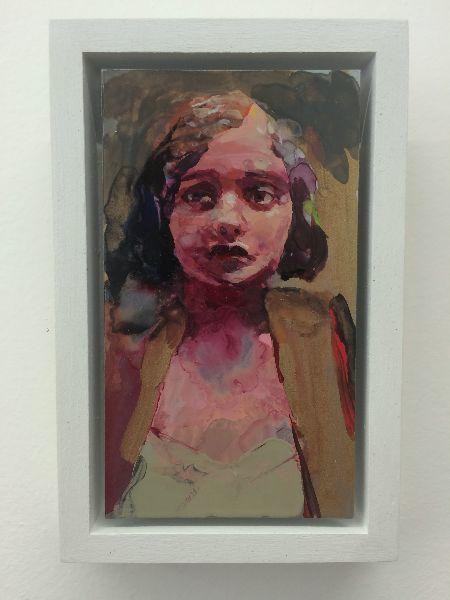 Geraldine Swayne, Swayne Anxious 2016 on ArtStack #geraldine-swayne #art