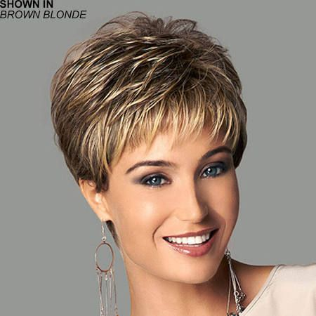 Short haircut wigs made with real hair - Google Search