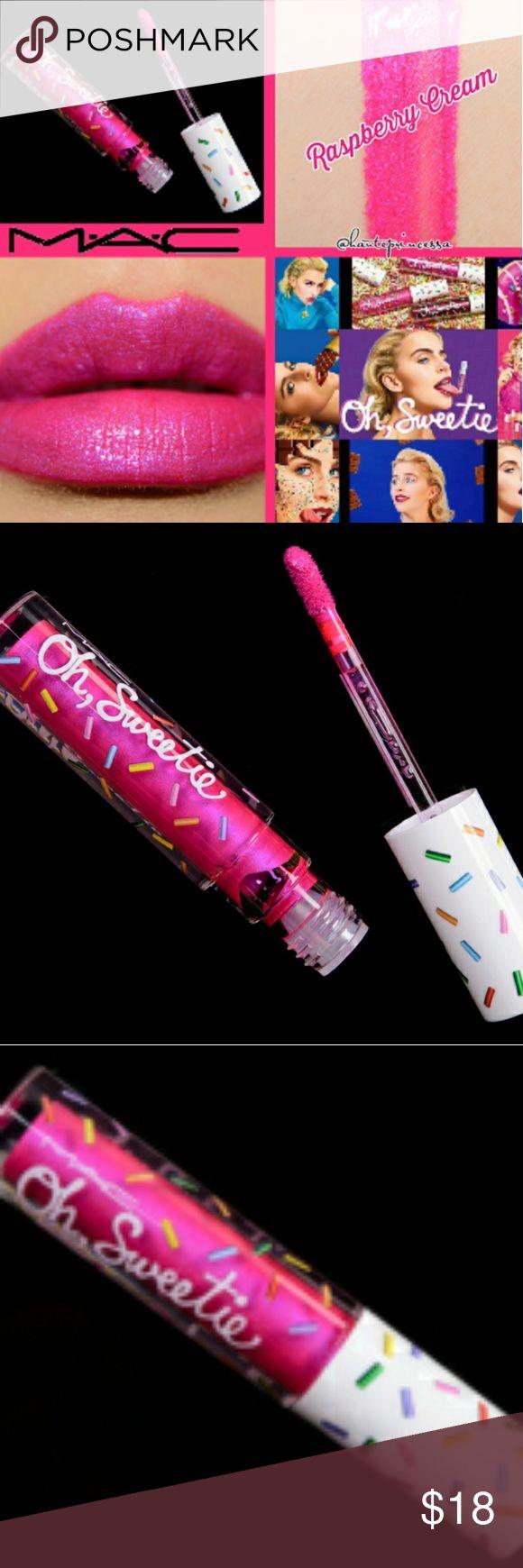 💋MAC Cosmetics Oh Sweetie Raspberry Cream lip 💋Mac Oh Sweetie Raspberry …