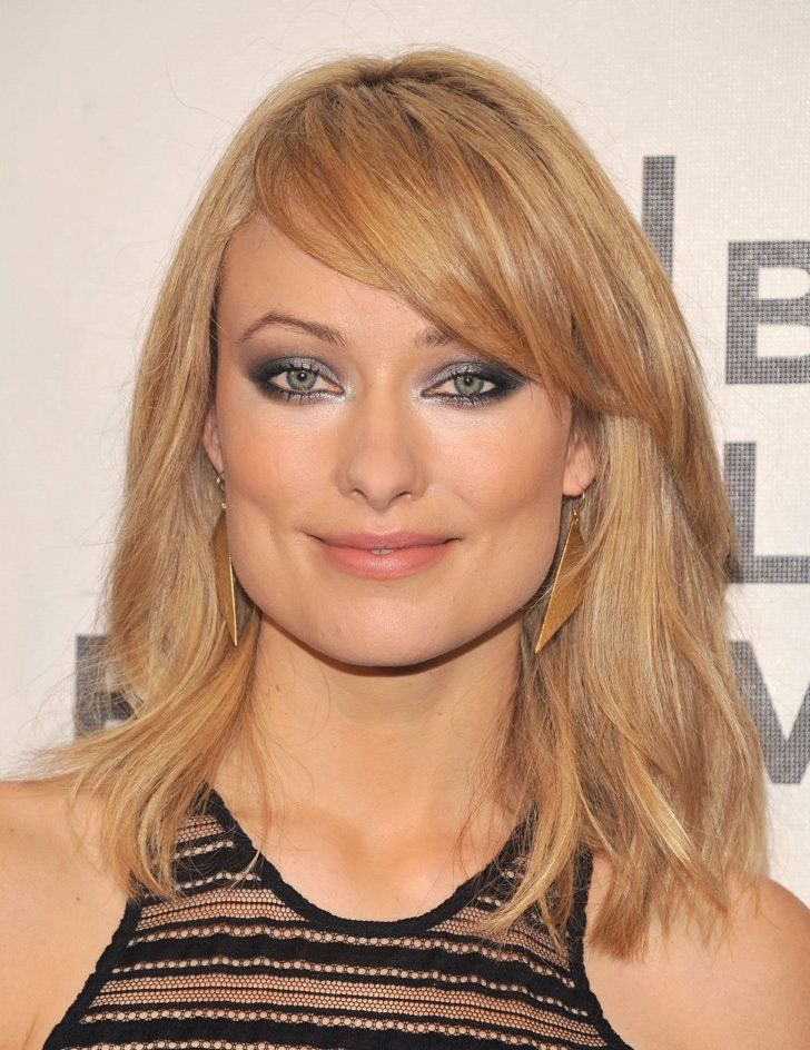 Pin for Later: Get a Close-Up of Olivia Wilde's Most Jaw-Dropping Beauty Moments April 2012 In 2012, Olivia Wilde went blonde for an upcoming role, and her new hair colour warranted more dramatic eye makeup.