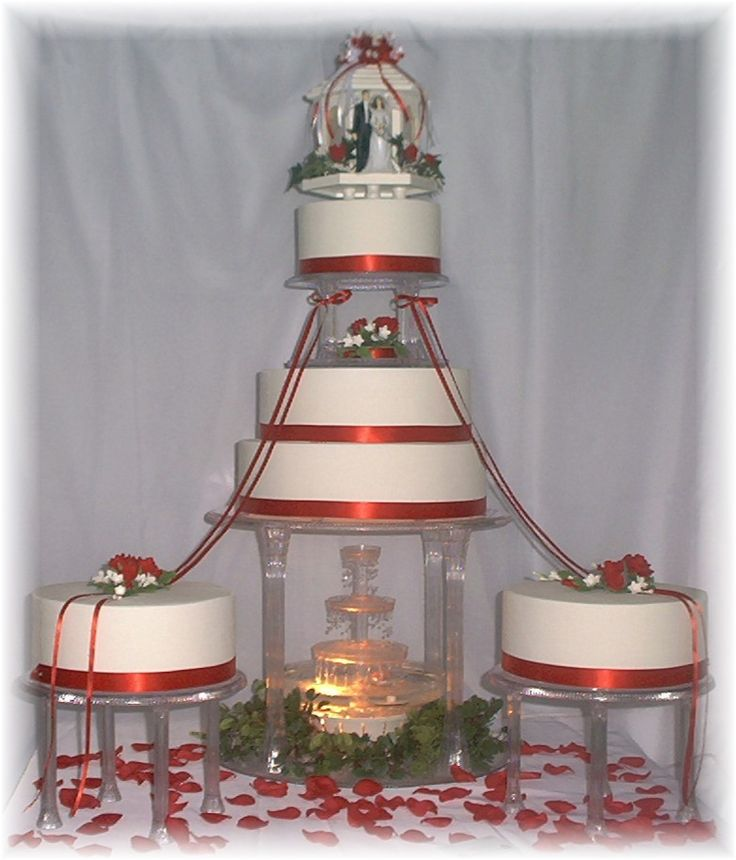 Wedding Cake Fountains | The Wedding Specialists
