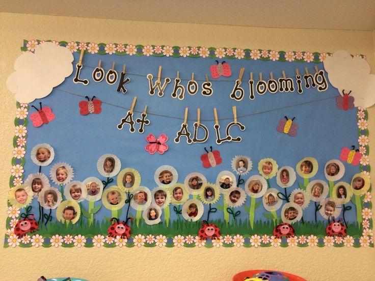 Spring Bulletin Board for Preschool      Crafts and Worksheets for Preschool,Toddler and Kindergarten