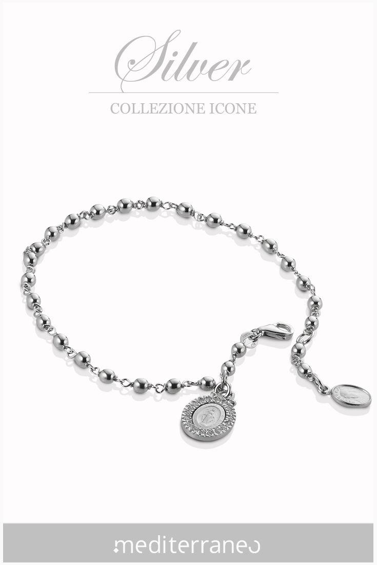 #bracciale rosario in argento 925