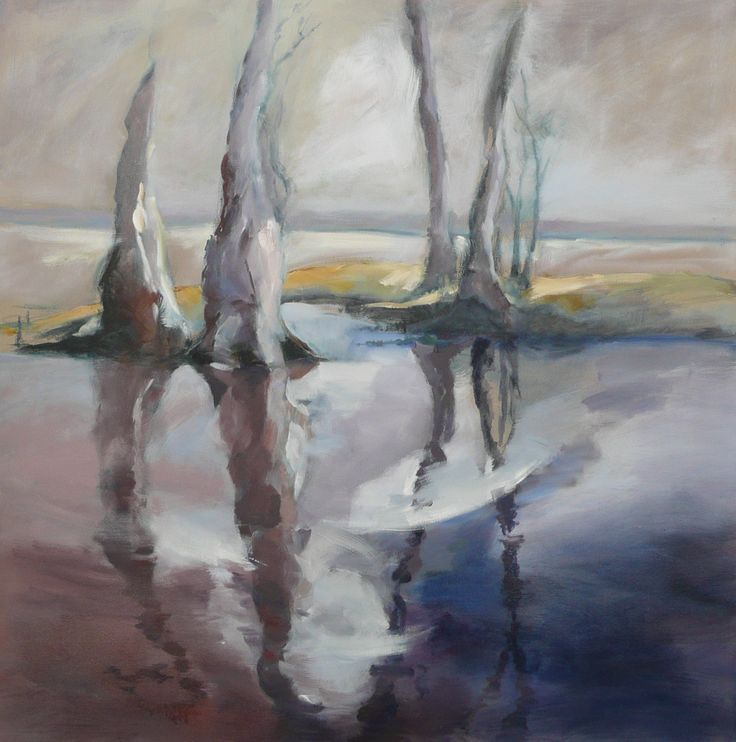 Goose Creek – Oil on canvas  PLATFORMstore