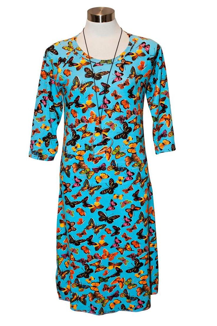 T-shirt Dress – Butterflies