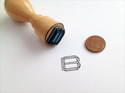 Monogram-stamp would be a great way to easily brand things in the future for promotions or coupons or what not.