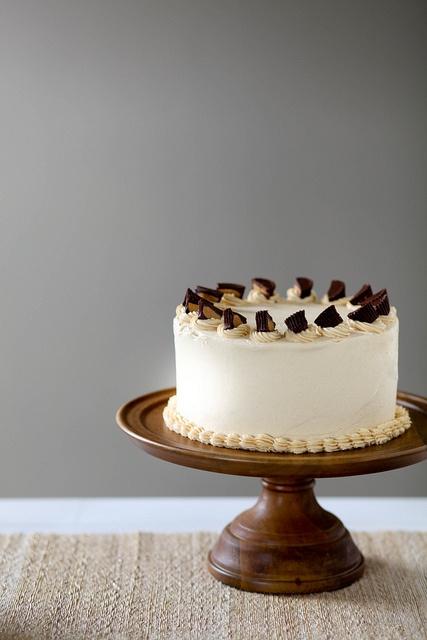 木製のケーキ台がとってもかわいい!!