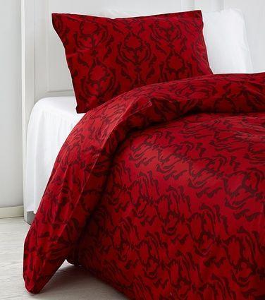 63,90e Kruunu-pussilakana, tuplaleveä, punainen