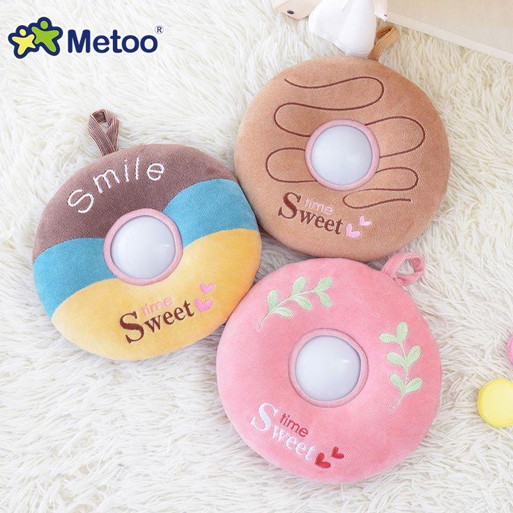 $11.50 (Buy here: https://alitems.com/g/1e8d114494ebda23ff8b16525dc3e8/?i=5&ulp=https%3A%2F%2Fwww.aliexpress.com%2Fitem%2FDonuts-Plush-Toys-Nightlight-LED-Toys-Baby-Feeding-Lights-Child-Sleeping-Appease-Toy-Metoo-Doll%2F32710029418.html ) Donuts Plush Toys Nightlight LED Toys Baby Feeding Lights Child Sleeping Appease Toy Metoo Doll for just $11.50