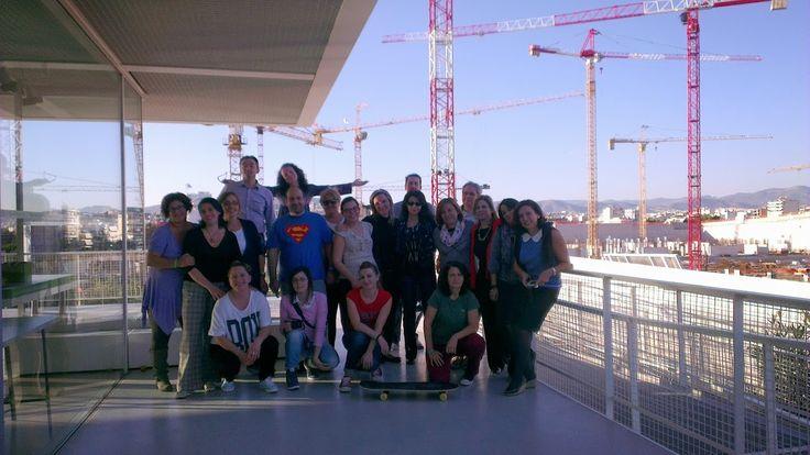 Συμμετοχή υπαλλήλων της Βιβλιοθήκης Λιβαδειάς  (Κεράστα, Βελέντζα, Μιμίκου) στο 2ο βιωματικό σεμινάριο για τα Media Labs (Στο Κέντρο Πολιτισμού Σταύρος Νιάρχος, 28/10/13)