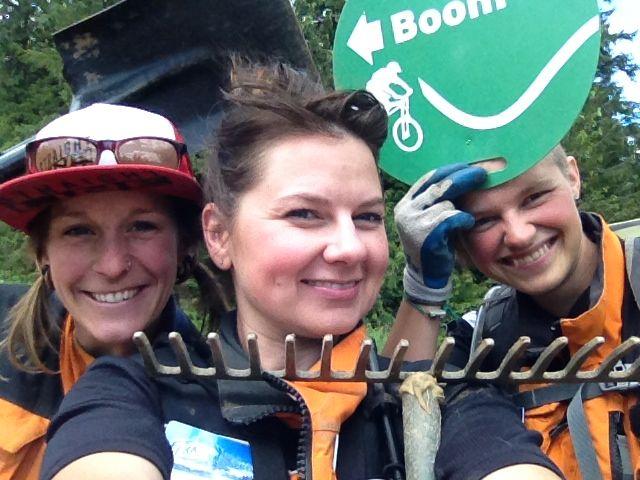 Trail crew #selfie #fernie #fernielove #ferniestoke by N.Matei