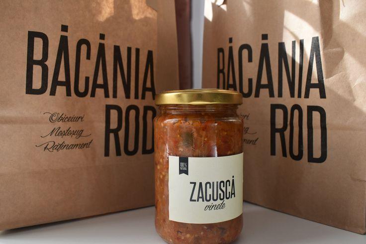 Zascucă de la Băcănia Rod! #romanianfood #eggplants #jarofgoodies #bacaniarod