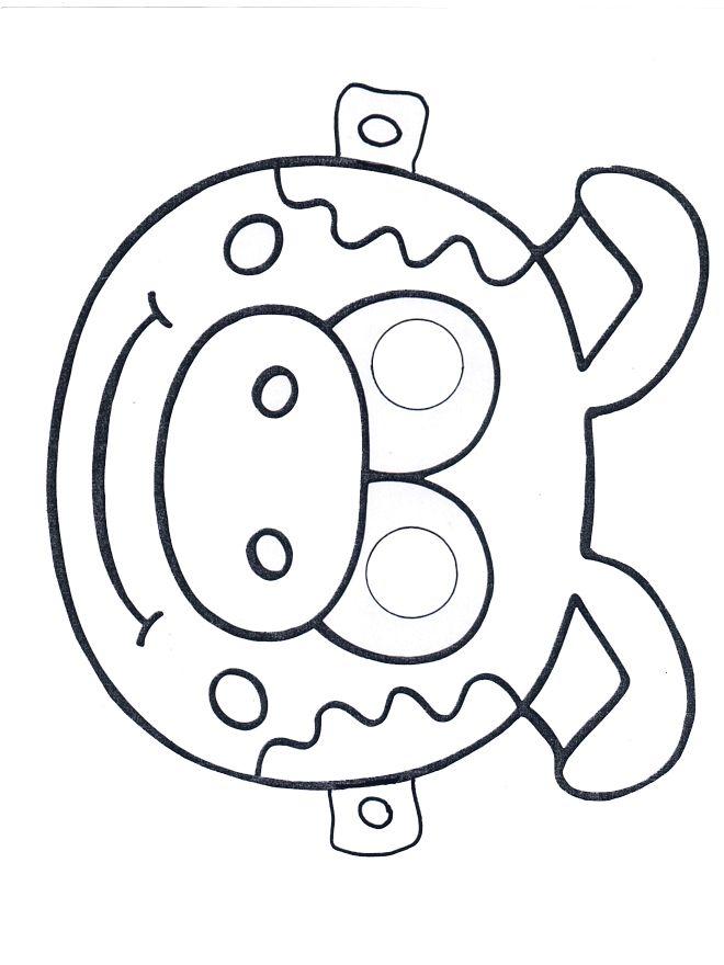 Muzische vorming: varkensmasker