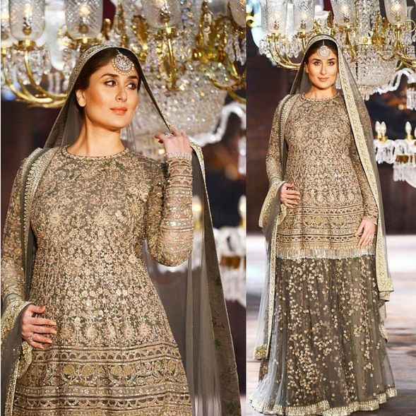 Mom to be Kareena Kapoor Khan walked on the Ramp at LFW2016 and left everyone…