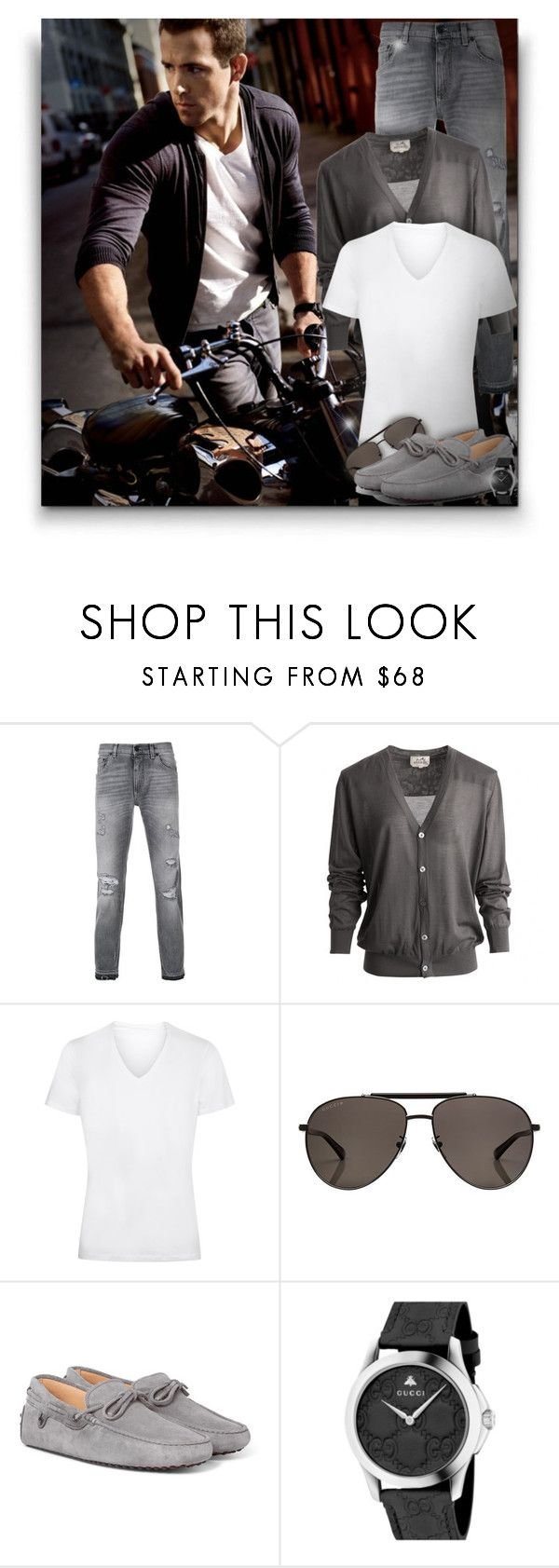 """""""Ryan Reynolds!"""" by asia-12 ❤ liked on Polyvore featuring Dolce&Gabbana, Hermès, La Perla, Gucci, men's fashion and menswear"""