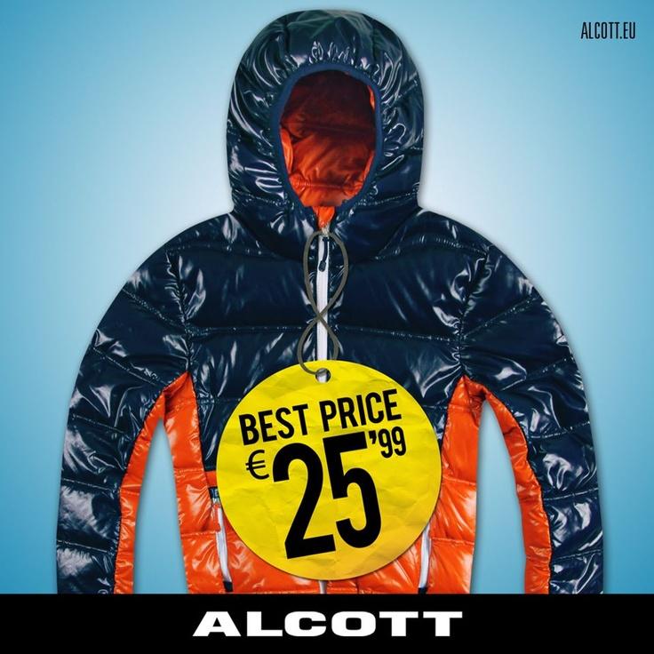 E' arrivato, per scaldare i giorni più freddi, il nuovo #piumino #ALCOTT questa volta dedicato all'universo maschile. Uno must che non può assolutamente mancare nel tuo guardaroba! Tuo a € 25.99! www.alcott.eu