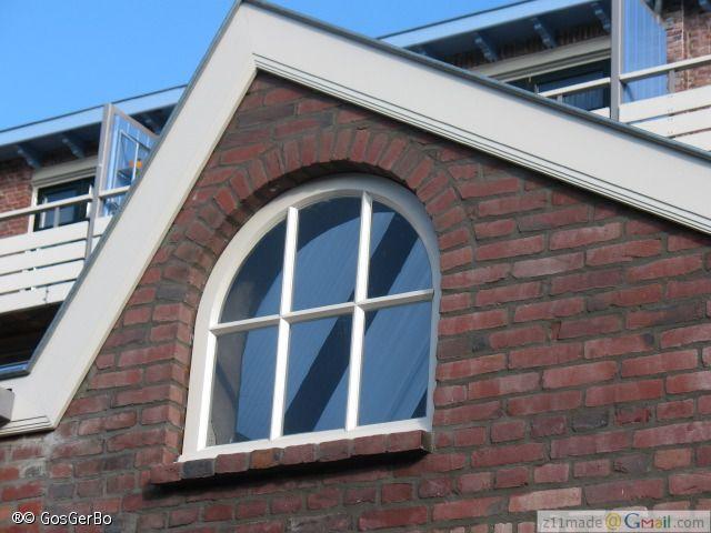 renovatie Ventose flat a/d Mathildelaan, Achterzijde = Gagelstraat