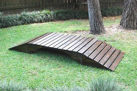 little bridge to build over creek for the yard pinterest bridges. Black Bedroom Furniture Sets. Home Design Ideas