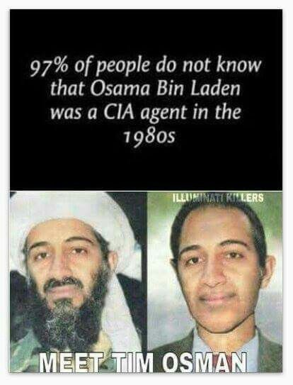 Osama Bin Laden...true or false that he was an agent..?