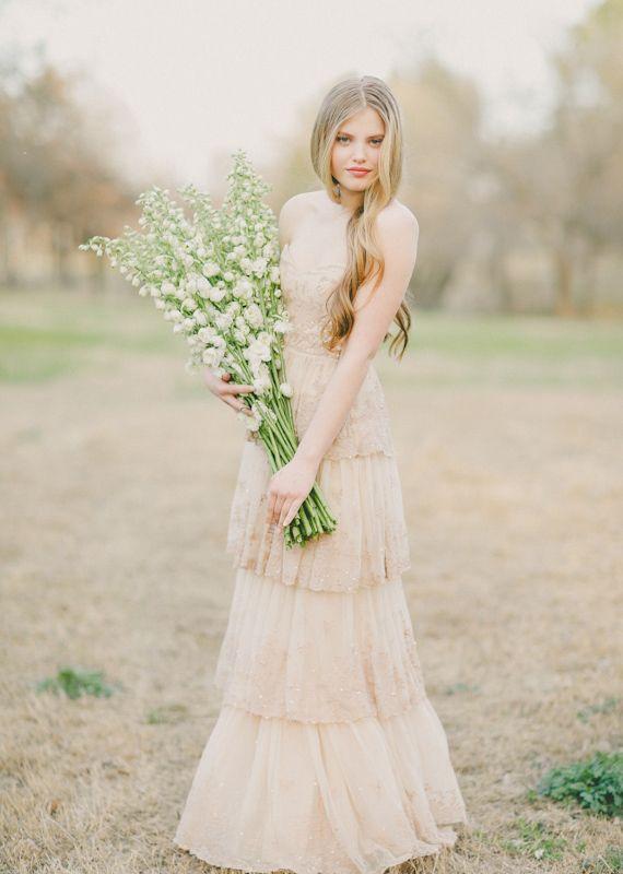 BHLDN wedding dress.
