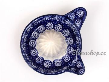 Lemon juicer . Handmade Polish Pottery from our shop ELIMAshop.cz . Boleslawiec . Bunzlau . stoneware . ceramics .