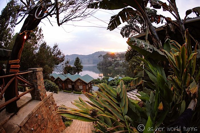 Lounging at Idyllic Lake Bunyonyi | Pristine views  www.asherworldturns.com