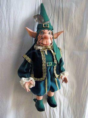 Gnom venezianisch , marionette puppe