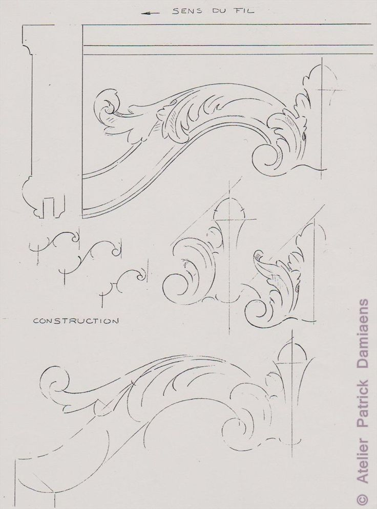 Besten acanthus scrollwork bilder auf pinterest