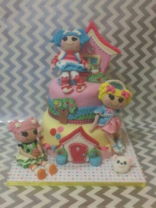 Lalaloopsy fondant cake fondant topper