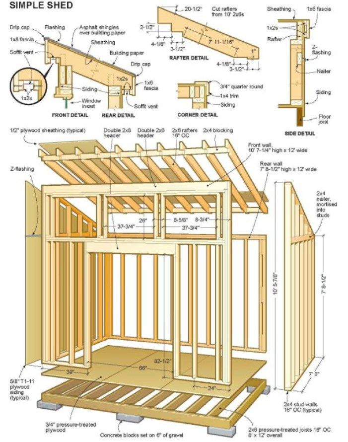Diy Garage Shed Plans The Backyard Shed Plan Is Your Best Choice Sheds Plans Small Shed Plans Wood Shed Plans Building A Shed