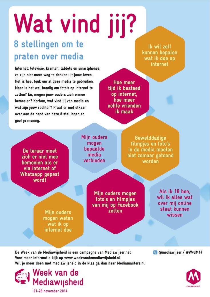 8 stellingen om in de klas te praten over media en mediawijsheid » tip voor tijdens de Week van de Mediawijsheid