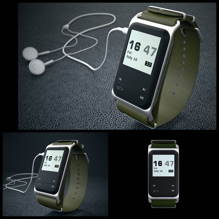theSportGPS GPS sport watch MP3 music player with the NATO ballistic Nylon kaki green watch band and the silver aluminium thesportgps.com facebook.com/thesportgps #idea #cool #sport #watch #music #MP3 #kickstarter #indiegogo