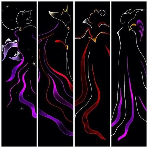 ribbion villiansRandom Disney, Disney Villians Art, Ribbons Villians, Ribbon Art, Disney Ribbons, Ribbons Art Disney, Disney Villains Art, Disney Awesome, Ribbons Villains