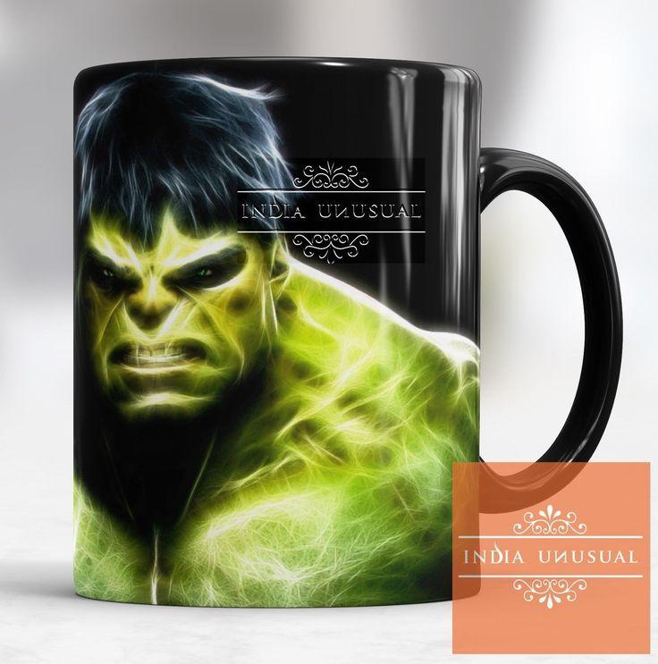 Angry Hulk Avenger Magic Color Changing Coffee Mug Tea Cup Gift Home Decor Edh