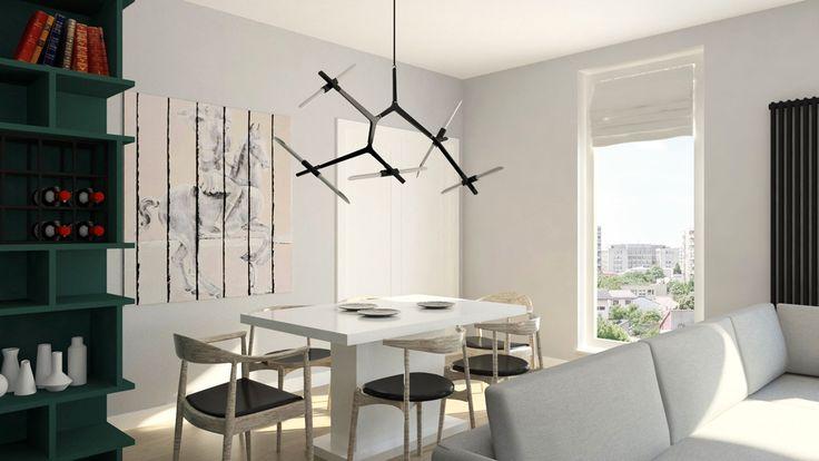 Mieszkanie na warszawskim Żoliborzu | Apartment in Żoliborz, Warsaw - Marta Czeczko - architektura wnętrz | interior design