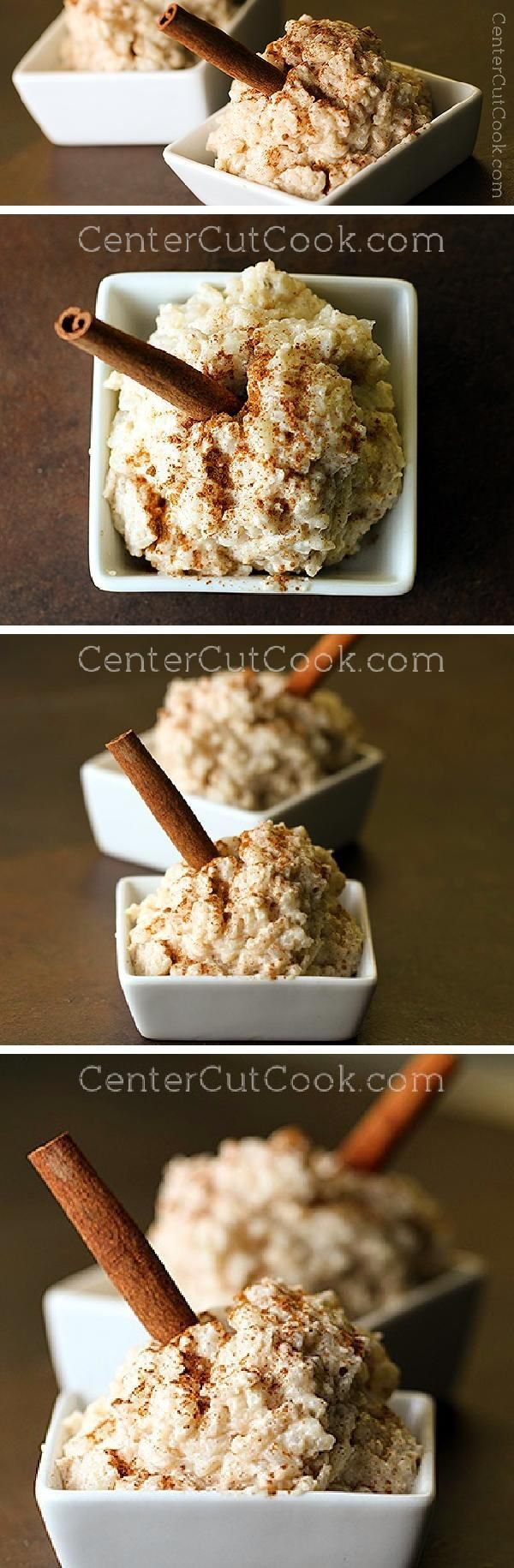 This CINNAMON RICE PUDDING calls for simple ingredients and turns out creamy, thick, rich, and delicious, just the way rice pudding should be! It's made entirely on the STOVETOP - no baking here!