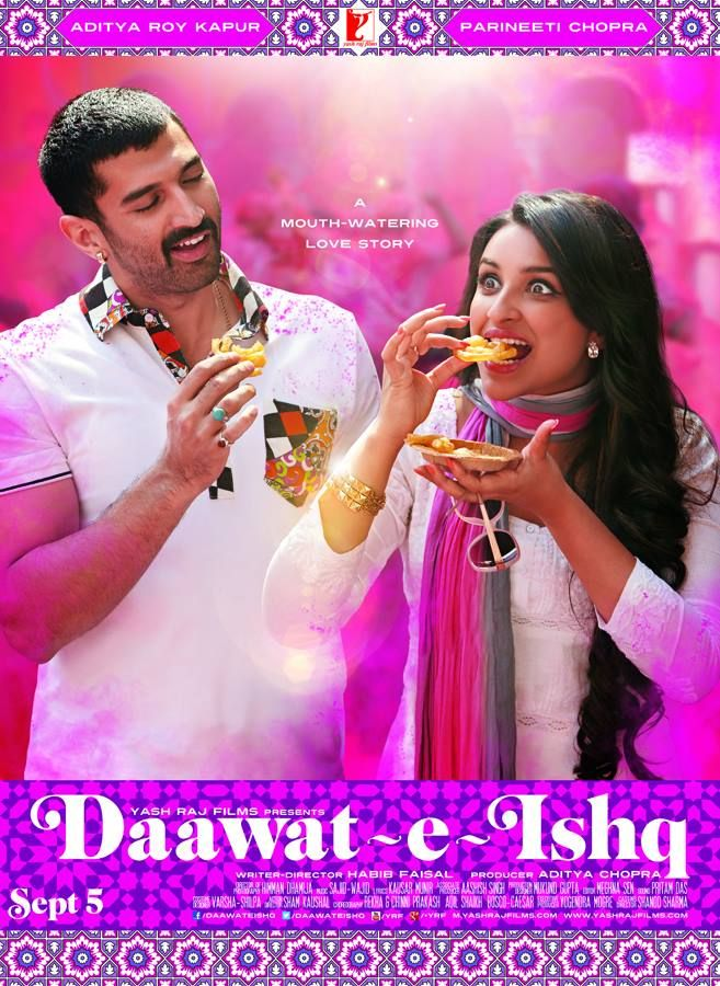 Aditya Roy Kapur & Parineeti Chopra's Upcoming Film Daawat-e-Ishq Official  Trailer, Release Date, Wiki, Story, Star-Cast And Wallpapers