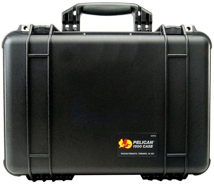 Pelican Case 1500 With Foam Insert For Redfield rampage 20Spotting Scope (Case & Foam)