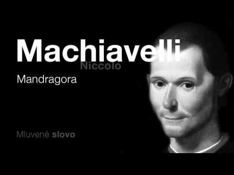 MLUVENÉ SLOVO - Machiavelli, Niccolo: Mandragora (KOMEDIE)