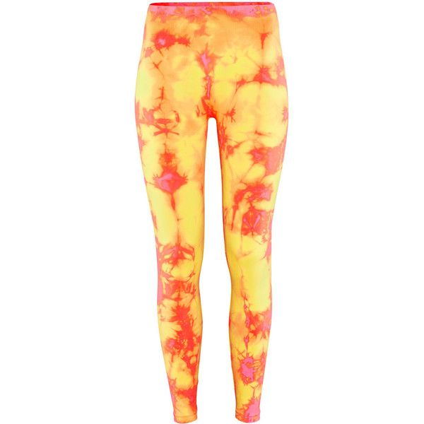 H&M Leggings (€19) ❤ liked on Polyvore featuring pants, leggings, bottoms, jeans, pantalones, neon pink, jersey pants, h&m leggings, h&m trousers and neon pink leggings