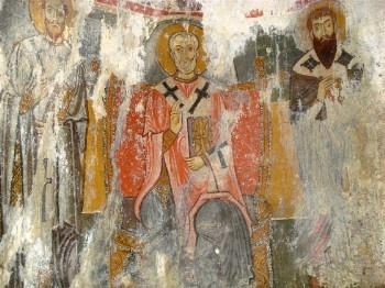 Hidden Byzantine Frescoes in Scalea