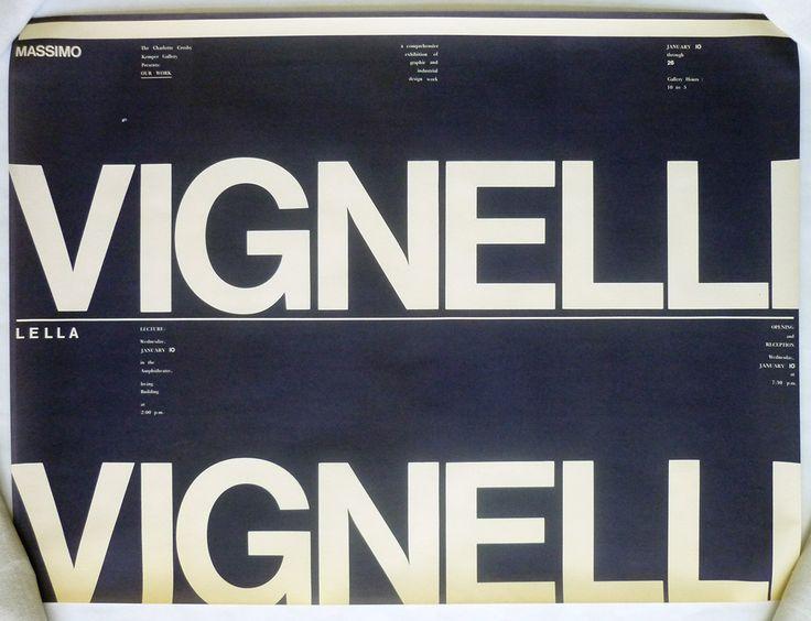 archive: vignelli : Photo