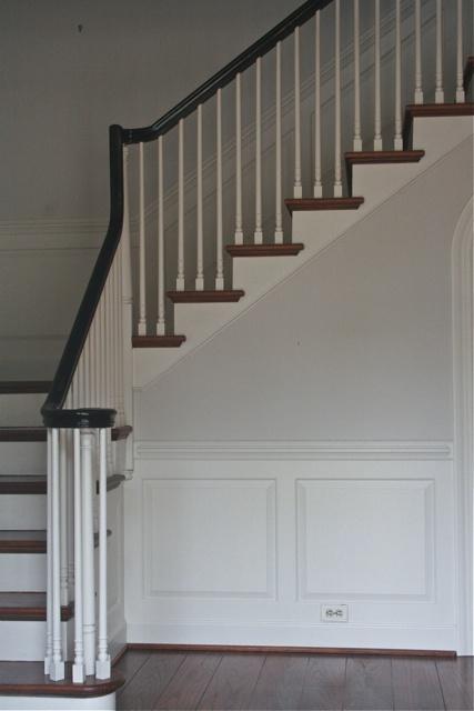 Love This Staircase Housetalkn A Brick Colonial House
