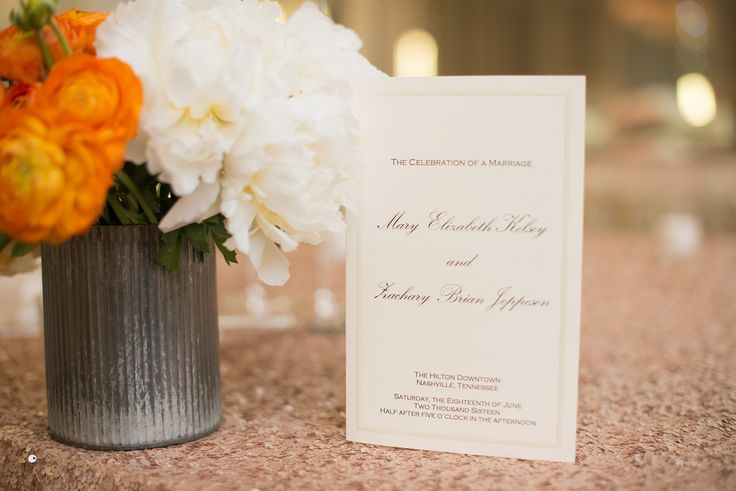 Planner: Angela Proffitt Venue: Hilton Downtown, Nashville Photographer: Matt Andrews Photography
