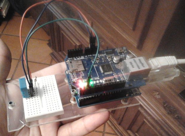 PART 1 - Send Arduino data to the Web ( PHP/ MySQL/ D3.js )